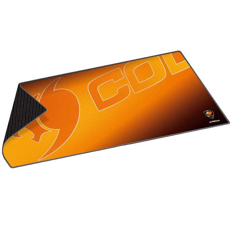LOT DE 10 TAPIS SOURIS GAMING ARENA EXTRA LARGE 800X300X5MM ORANGE 0