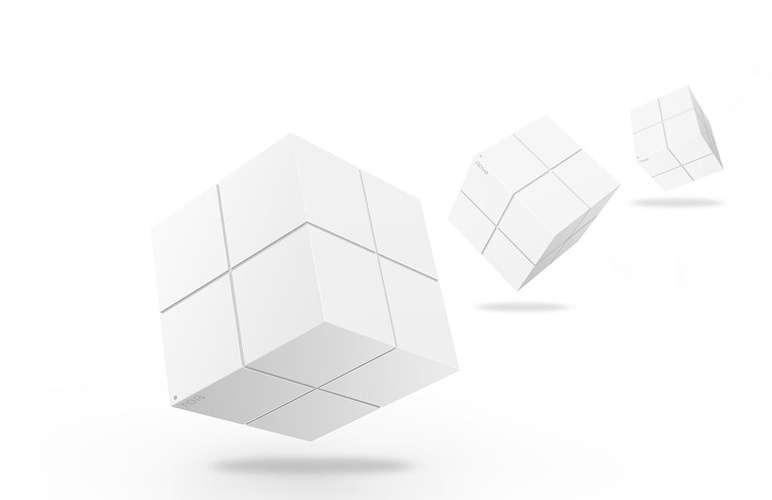 LOT DE 2 SYSTEMES WIFI MESH DE DOMICILE Pour 550 m² max BI-BANDES AVEC 3 BLOCS nova10