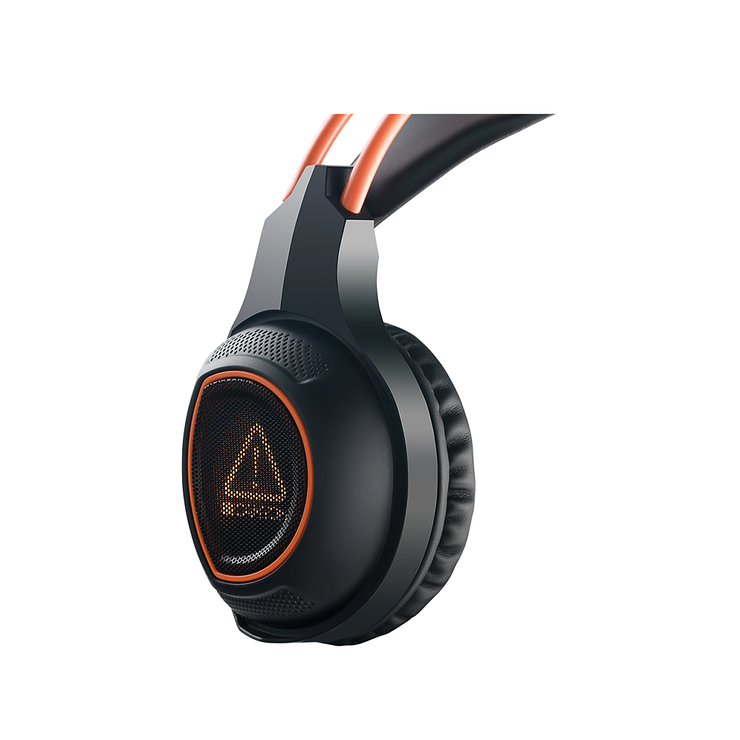 CASQUE MICRO GAMING SG-HS7 NOIR / ORANGE USB cnd-sghs71