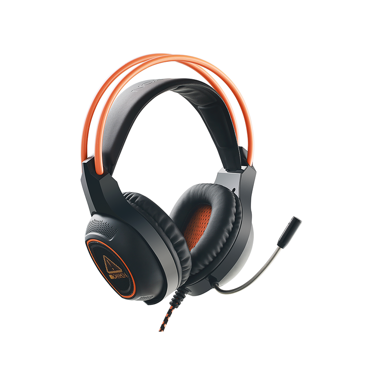 CASQUE MICRO GAMING SG-HS7 NOIR / ORANGE USB cnd-sghs73