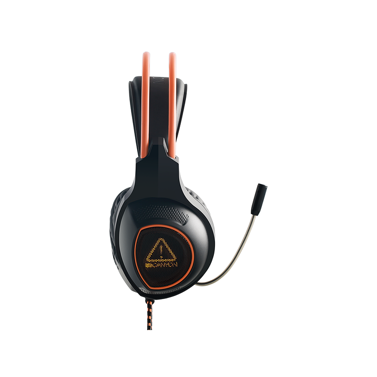 CASQUE MICRO GAMING SG-HS7 NOIR / ORANGE USB cnd-sghs74