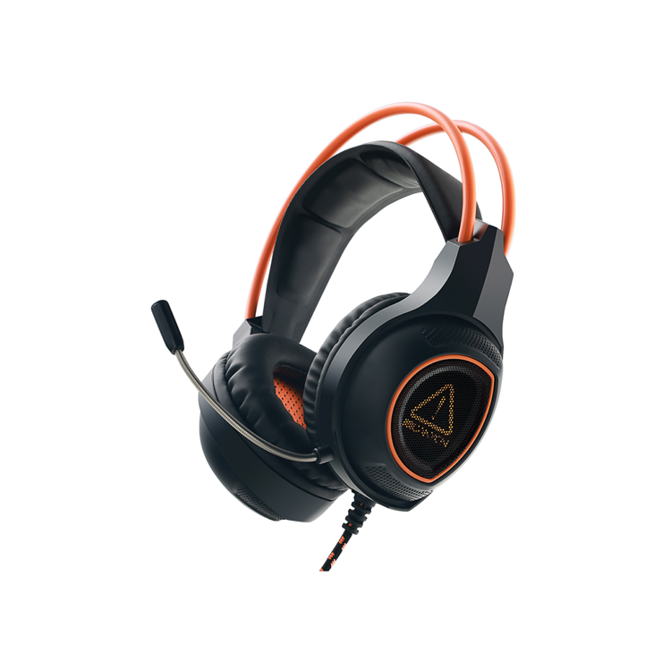 CASQUE MICRO GAMING SG-HS7 NOIR / ORANGE USB 0