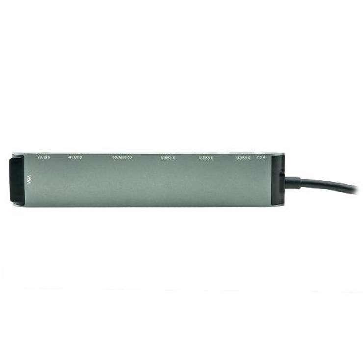 STATION D''ACCUEIL USB TYPE C MULTIPORTS + LECTEUR DE CARTE BLISTER usb3c-553z1
