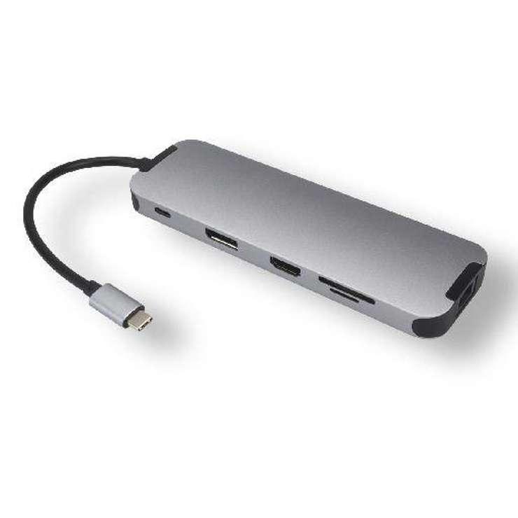 STATION D''ACCUEIL USB TYPE C MULTIPORTS 10 EN 1 BLISTER usb3c-556z3