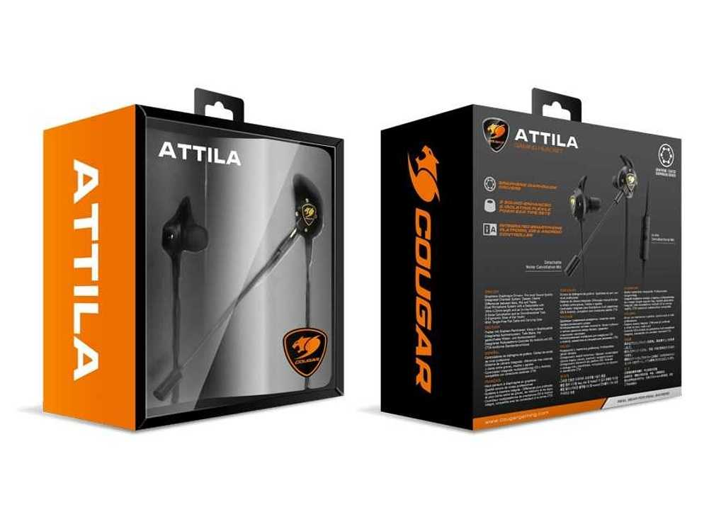 LOT DE 10 OREILLETTES GAMING ATTILA MICRO DETACHABLE attila2