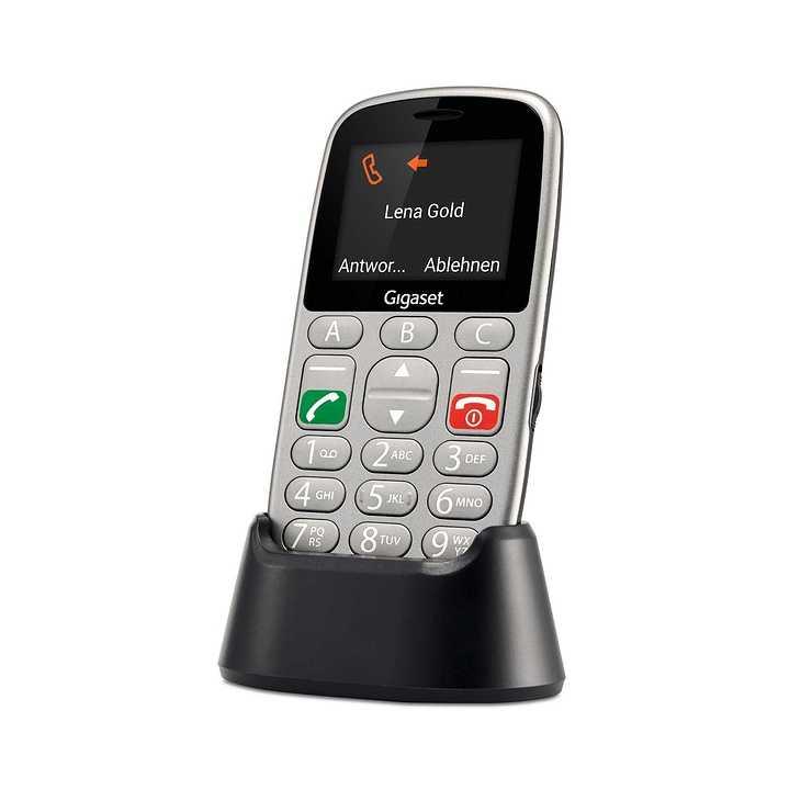 LOT DE 6 TELEPHONES MOBILES GL390 AVEC TOUCHES LARGES ET FONCTION SOS gl3903
