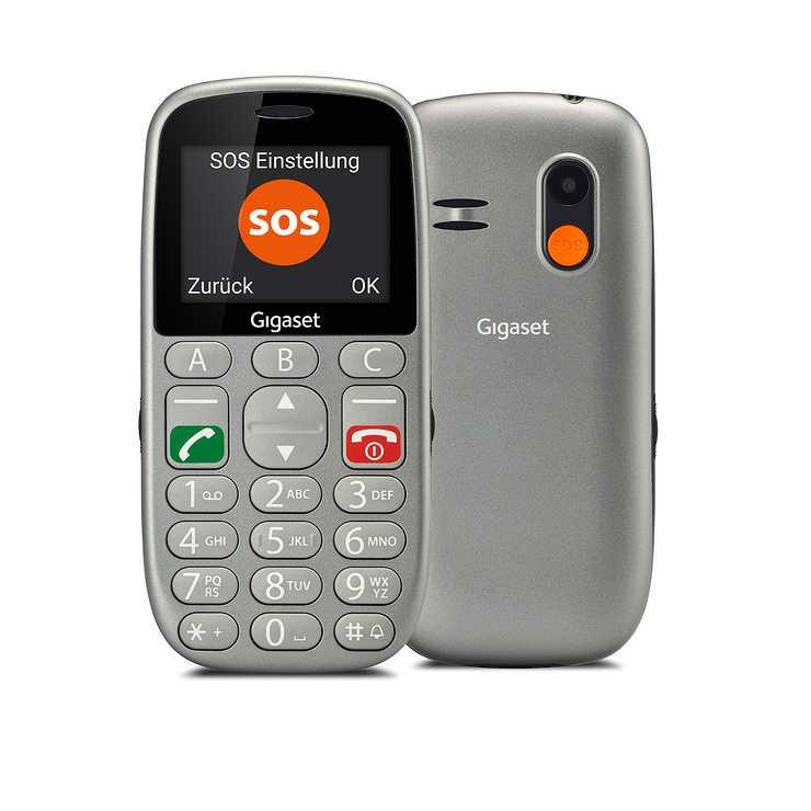 LOT DE 6 TELEPHONES MOBILES GL390 AVEC TOUCHES LARGES ET FONCTION SOS 0