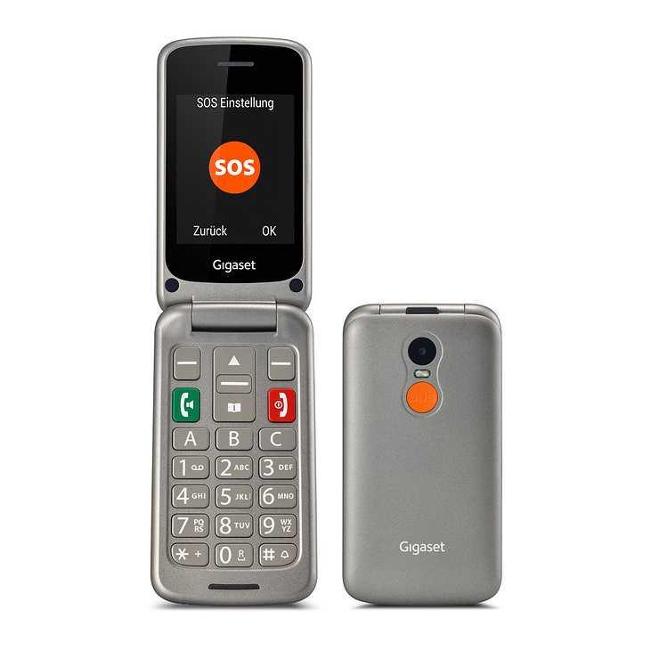 LOT DE 6 TELEPHONES MOBILES GL590 AVEC CLAPET TOUCHES LARGES ET FONCTION SOS 0