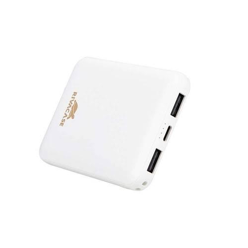 LOT DE 12 CHARGEURS RIVAPOWER 5000 MAH 2.1A MICRO USB+ TYPE C BLANC va2405white.42604035763664260403576373.ver17
