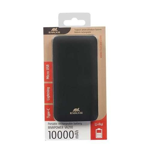 LOT DE 12 BATTERIES DE SECOURS 10 000 MAH MICRO USB / TYPE C / LIGHTNING va21103