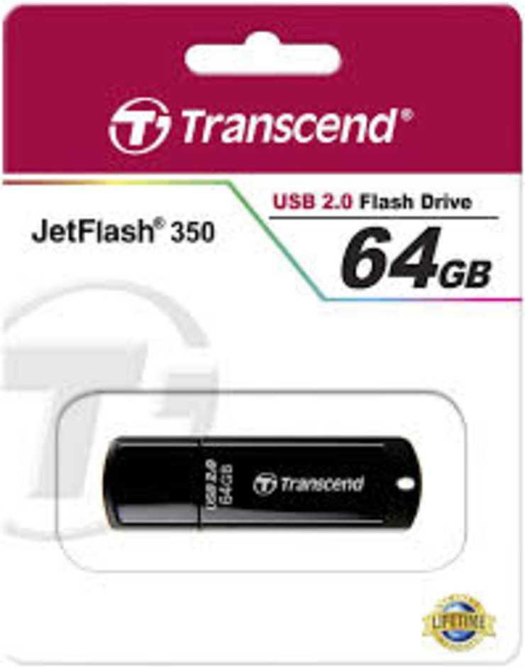 LOT DE 25 CLES USB 64GO SERIE 350 NOIR USB 2.0 telechargement