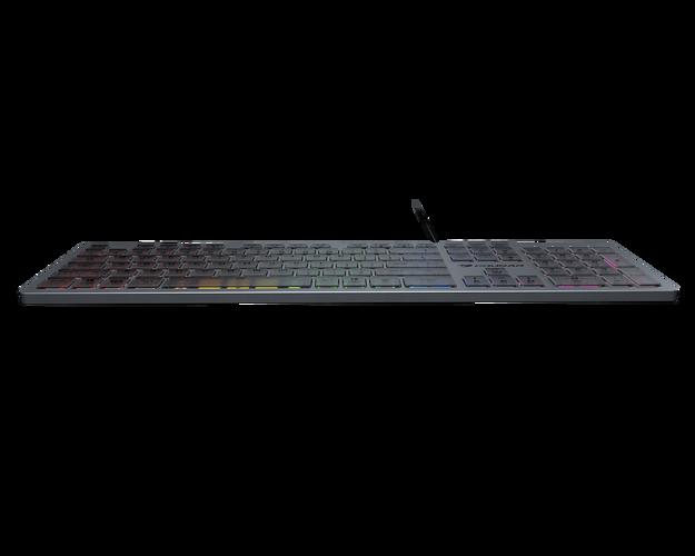 CLAVIER GAMING VANTARAX RGB ALUMINIUM vantarax1