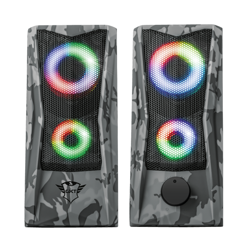HP GXT 606 JAVV RGB 2.0 PUISSANCE 6 WATTS RMS CAMOUFLAGE 233793