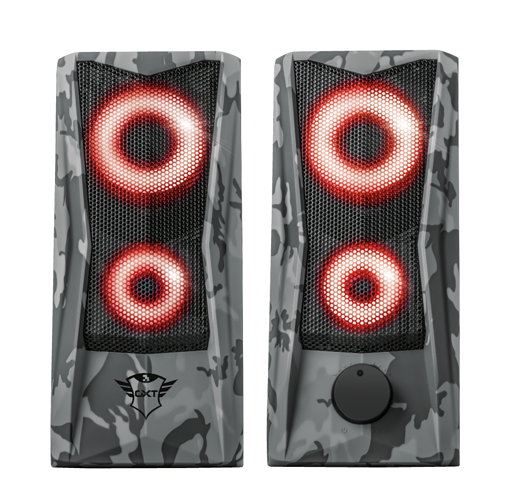 HP GXT 606 JAVV RGB 2.0 PUISSANCE 6 WATTS RMS CAMOUFLAGE 233794