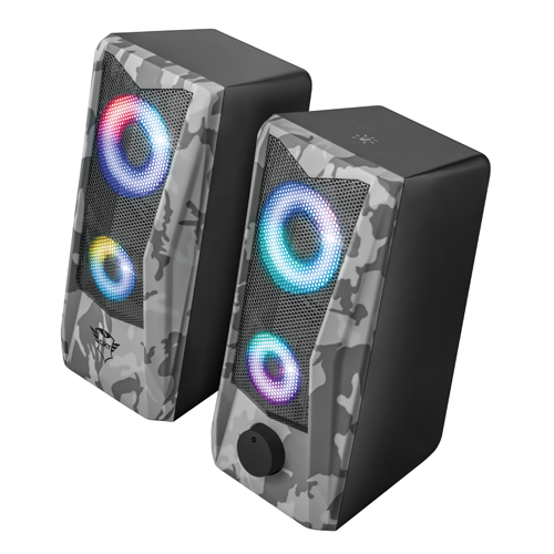 HP GXT 606 JAVV RGB 2.0 PUISSANCE 6 WATTS RMS CAMOUFLAGE 233797