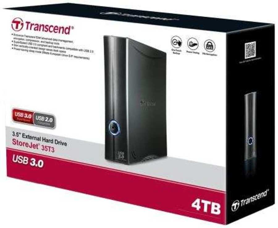 """DISQUE DUR EXTERNE 3.5"""" 4TO USB3.0 ts4tsj35t32"""