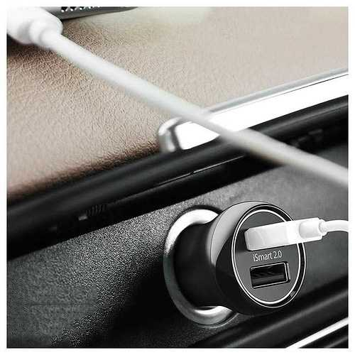 LOT DE 10 CHARGEURS ALLUME CIGARE USB 30W QC3.0 2 PORTS rppc0884