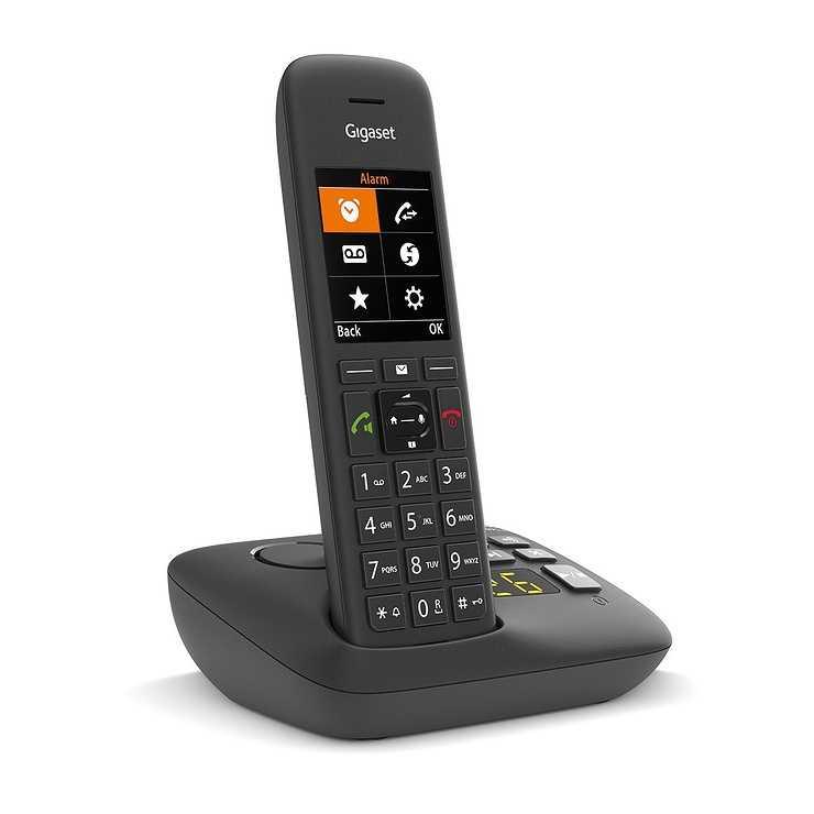 TELEPHONE C575 SOLO SANS FIL AVEC REPONDEUR - NOIR 0