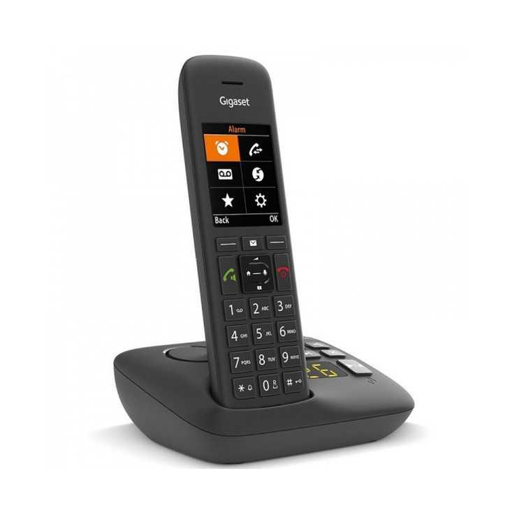 TELEPHONE C575 DUO SANS FIL AVEC REPONDEUR- NOIR gsc575aduonoir2