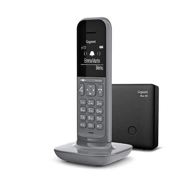 TELEPHONE CL390 DUO SANS FIL AVEC REPONDEUR- GRIS gscl390gris5