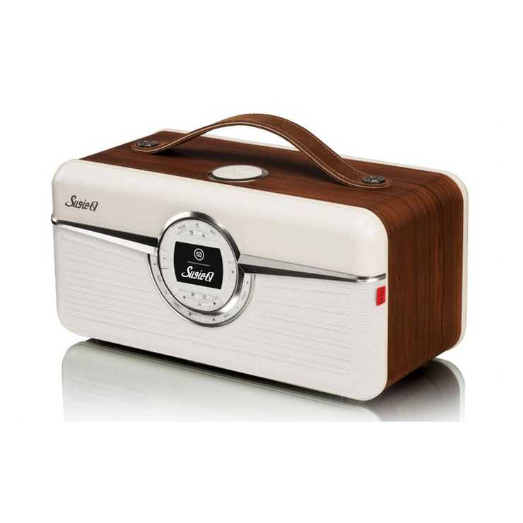 RADIO RETRO SUSIE Q DAB / DAB+ / FM/ WIFI 80 WATTS - NOYER 0