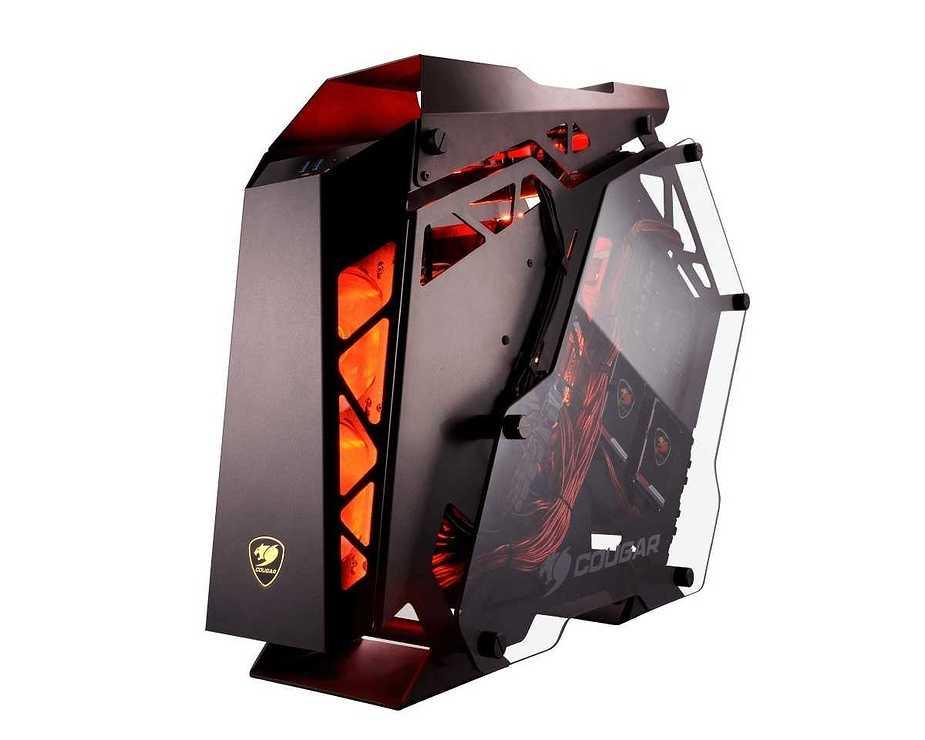 BOITIER PC GAMING CONQUER ALUMINIUM + VERRE TREMPE conquer2