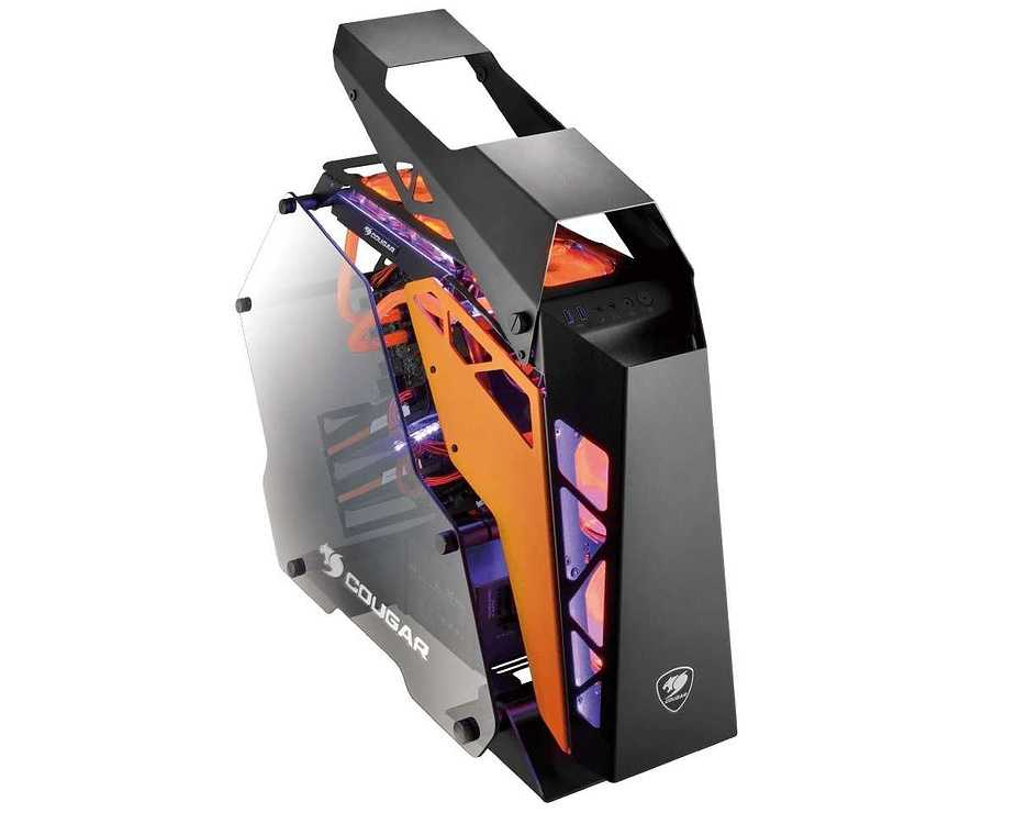 BOITIER PC GAMING CONQUER ALUMINIUM + VERRE TREMPE conquer4