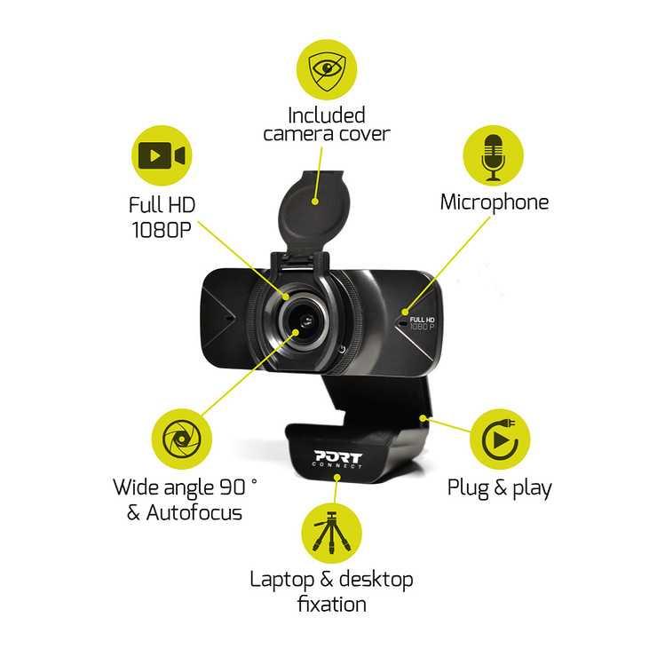 CAMERA FULL HD 1080 AVEC MICRO NOIR 9000784