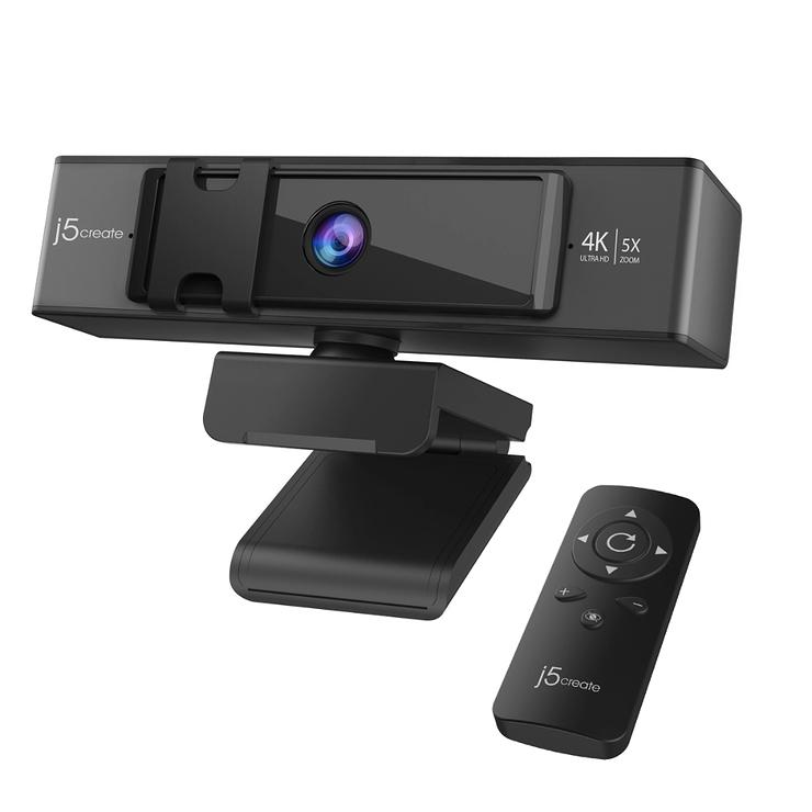 WEBCAM 4K ULTRA HD+ TELECOMMANDE A ZOOM NUMERIQUE 5X 0