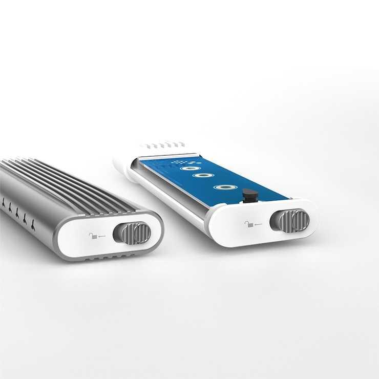 BOITIER SSD JEE256 USB-C VERS M.2 NVMe jee256-7-42400x
