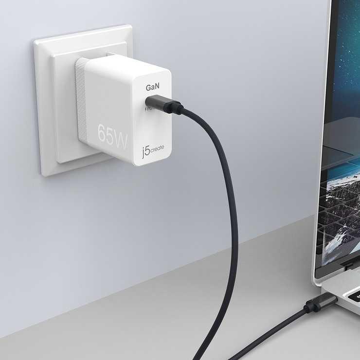 MINI CHARGEUR SECTEUR USB-C GaN PD 65 W jup1365-7-12400x