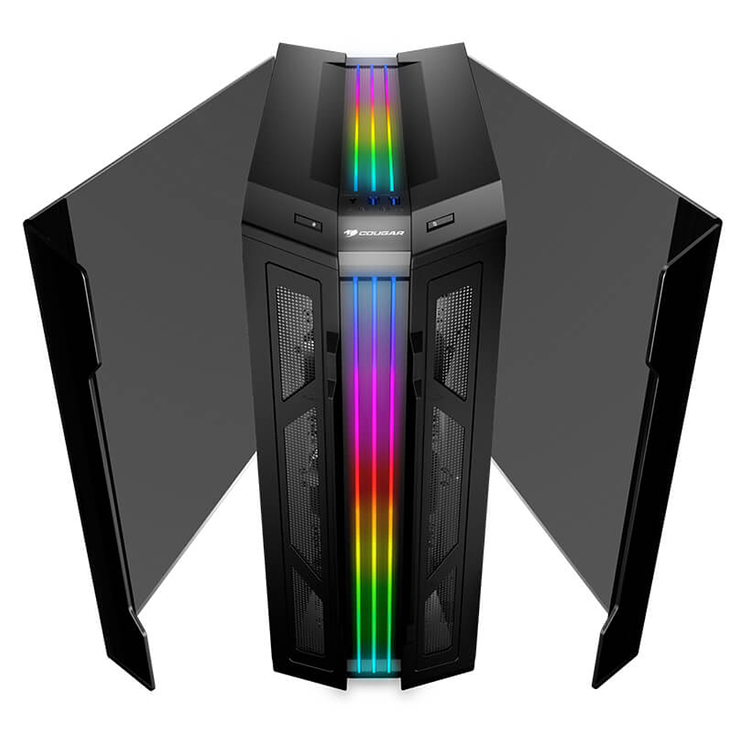 BOITIER PC GAMING GEMINI T PRO RGB VERRE TREMPE geminitpro2