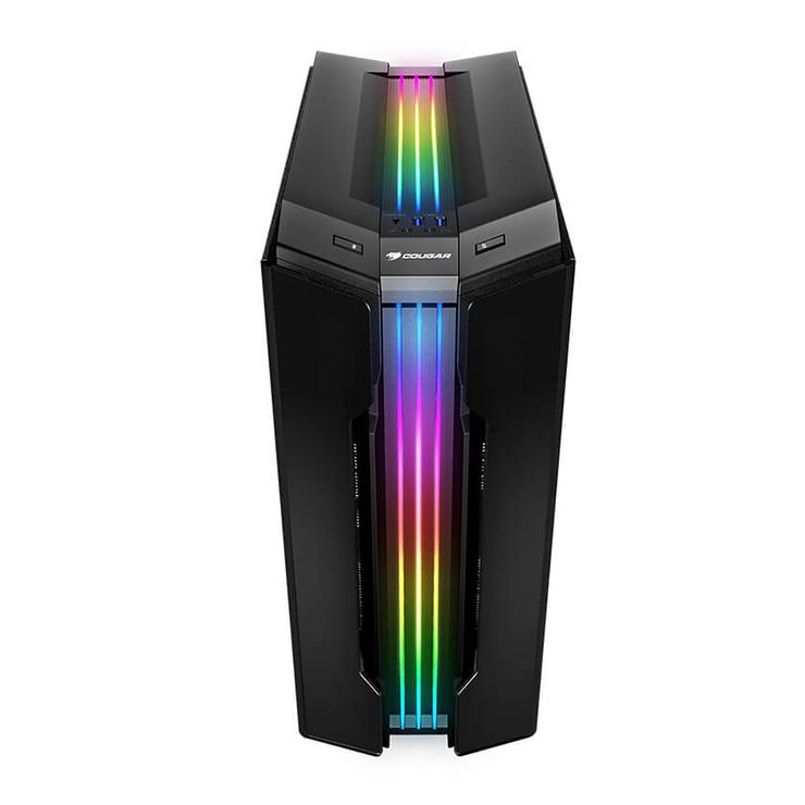 BOITIER PC GAMING GEMINI T PRO RGB VERRE TREMPE geminitpro3