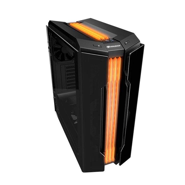 BOITIER PC GAMING GEMINI T PRO RGB VERRE TREMPE geminitpro5