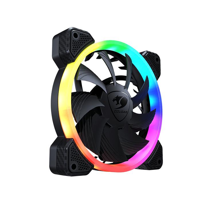 KIT DE 3 VENTILATEURS GAMING VORTEX VK120 RGB vk1202