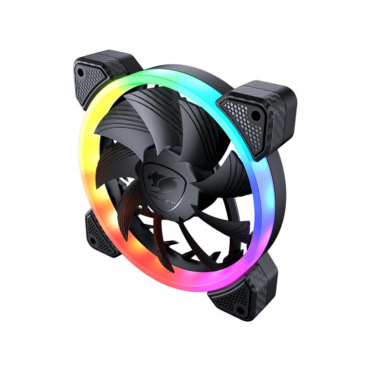 KIT DE 3 VENTILATEURS GAMING VORTEX VK120 RGB vk1205