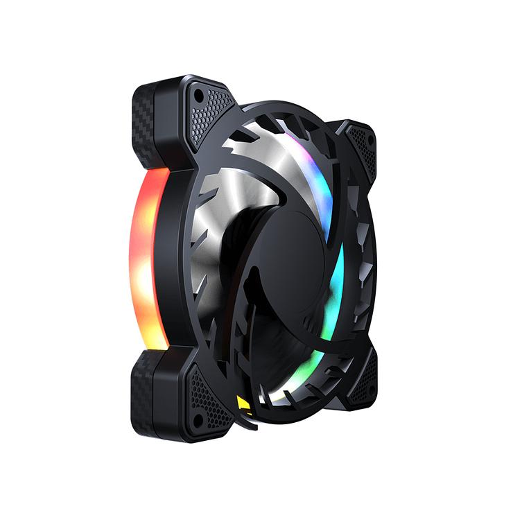 KIT DE 3 VENTILATEURS GAMING VORTEX VK120 RGB vk1206