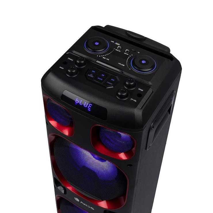 LOT DE 6 HP WILDSKA1 USB / SD / TWS / BT / AUX PUISSANCE 300 WATTS ngswildska15