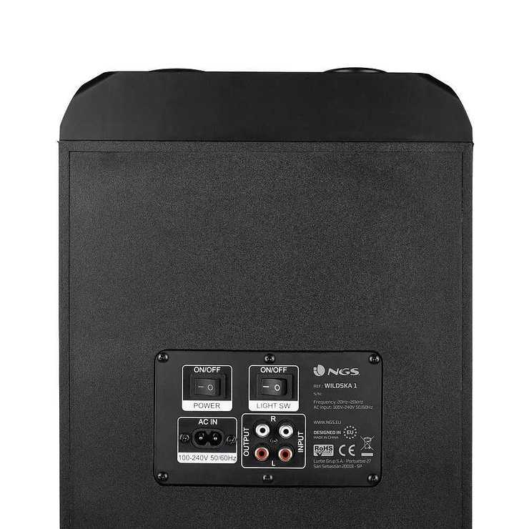 LOT DE 6 HP WILDSKA1 USB / SD / TWS / BT / AUX PUISSANCE 300 WATTS ngswildska16