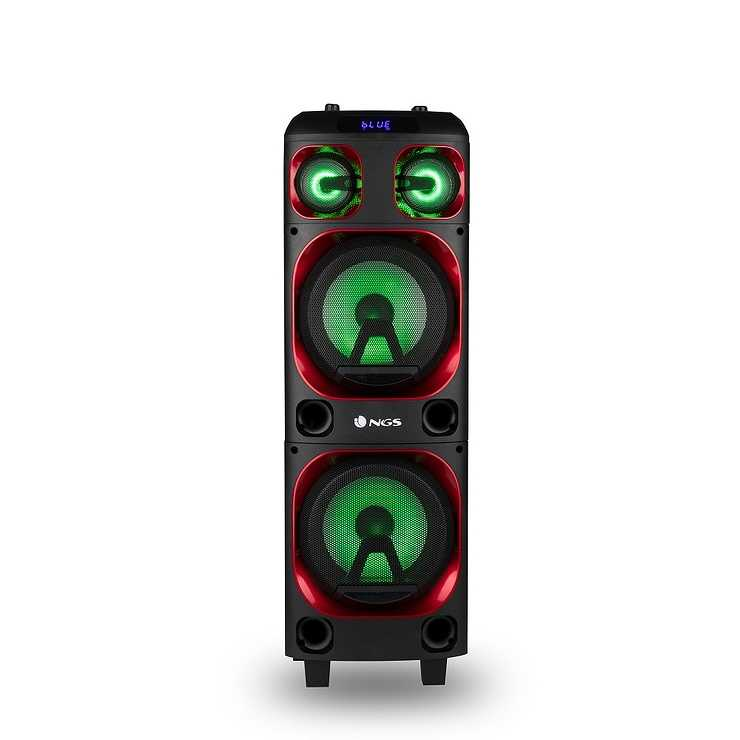 LOT DE 6 HP WILDSKA1 USB / SD / TWS / BT / AUX PUISSANCE 300 WATTS 0