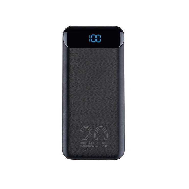POWERBANK 20000 MAH 2.1A USB/TYPE C/MICRO USB QC ECRAN 2580black.42604035792824260403579275.ver02