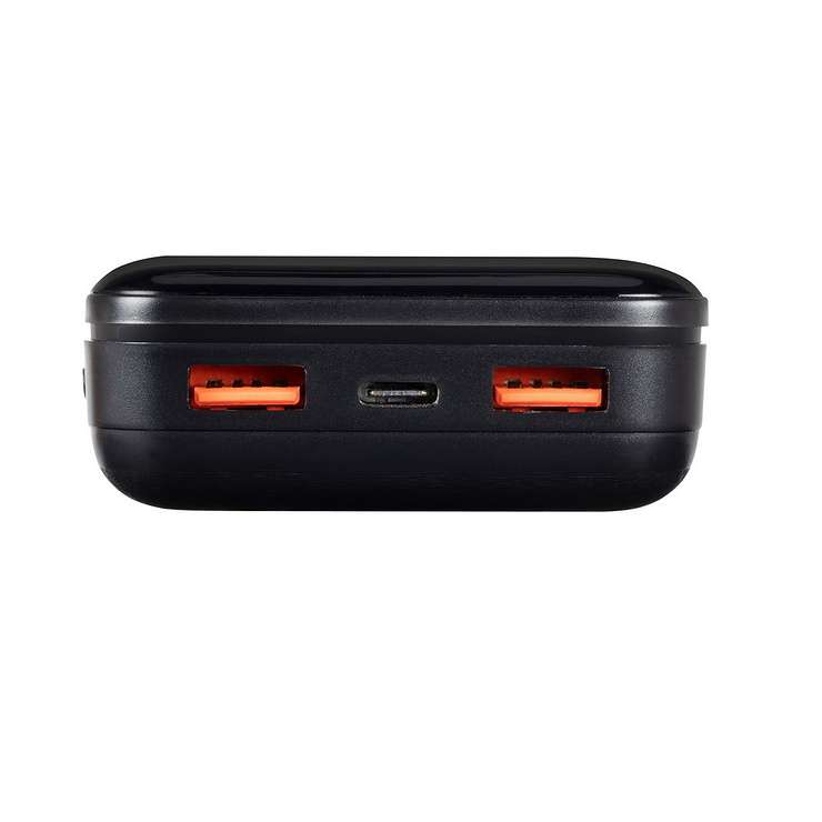 POWERBANK 20000 MAH 2.1A USB/TYPE C/MICRO USB QC ECRAN 2580black.42604035792824260403579275.ver04