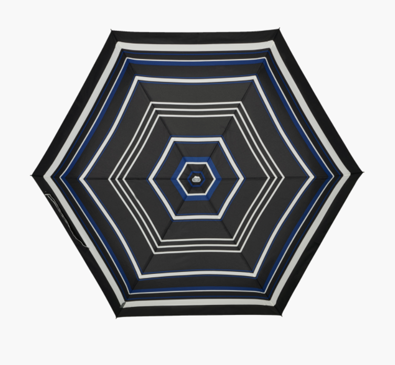 PARAPLUIE ALU DROP S 3 SECTIONS MANUEL - BLUE STRIPES 108962-bluestripes1