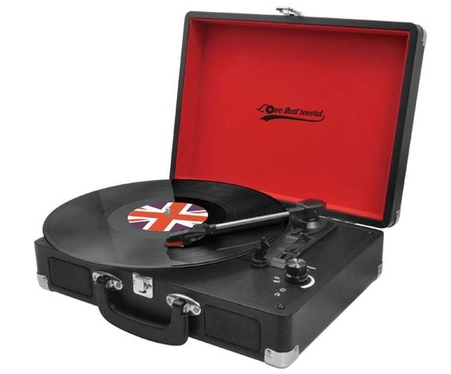 PLATINE VINYLE LOVE THAT RECORD 33/45/78 TOURS 0