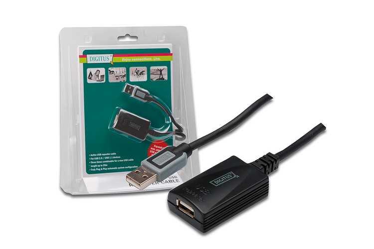 CABLE REPETEUR USB-2.0 - 5M da70130-2