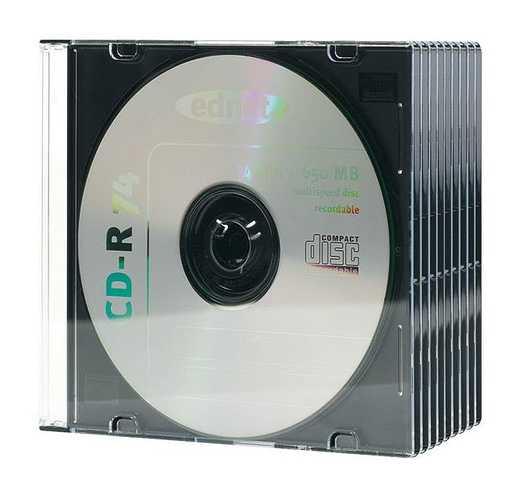 BOITIER PLASTIQUE POUR CD - BOITIER SLIM - LOT DE 10 0