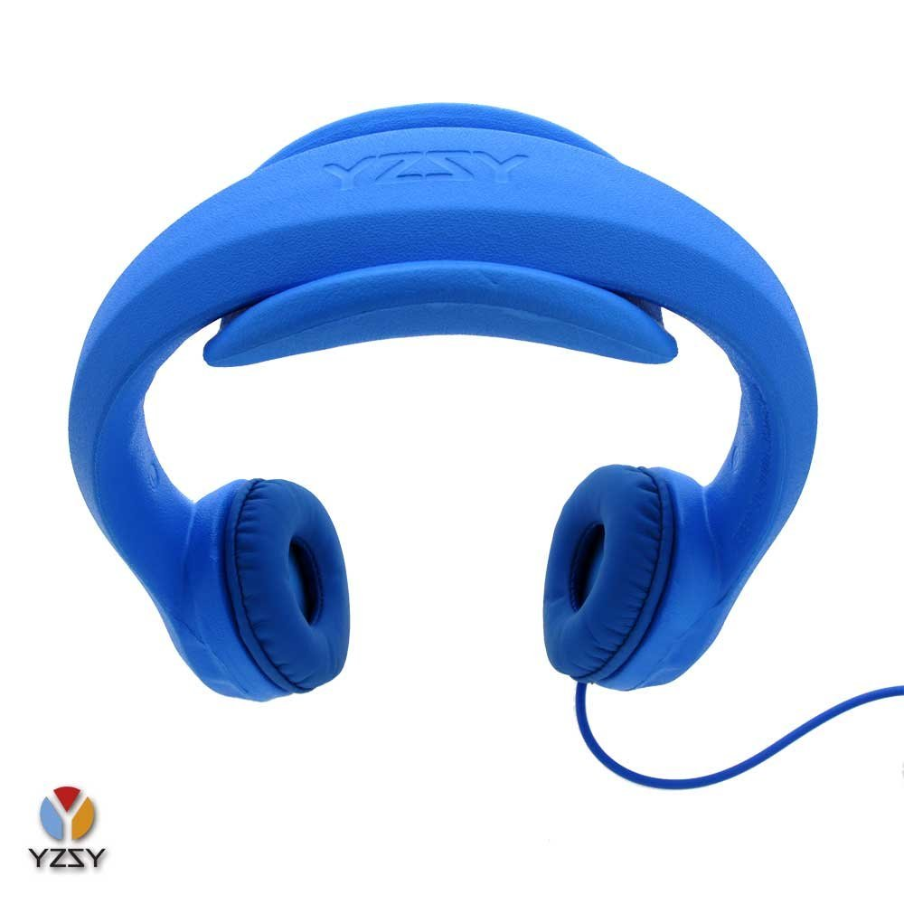 casque audio buddy yzsi pour enfant avec limite du volume bleu noriak. Black Bedroom Furniture Sets. Home Design Ideas