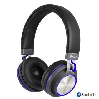casque audio artica patrol bluetooth avec micro metal bleu noriak. Black Bedroom Furniture Sets. Home Design Ideas